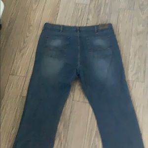Wranglers light washed jeans 42x30